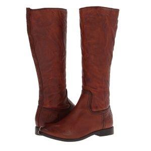 Frye Anna Inside Zip riding boots